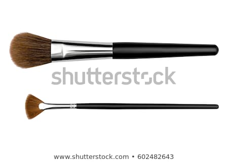 Sminkecset makró arc divat szín ecset Stock fotó © moses
