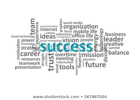 Business word cloud for business and finance concept Stock photo © dacasdo