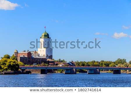 old sweden castle on island in vyborg russia Stock photo © Mikko
