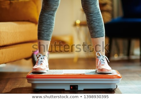 Vibration Plate Stock photo © Suljo