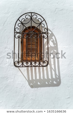 Wrought iron windows Stock photo © smuay