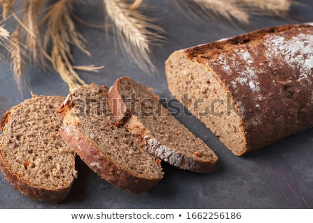 Whole Grain Bread textured background Stock photo © njnightsky