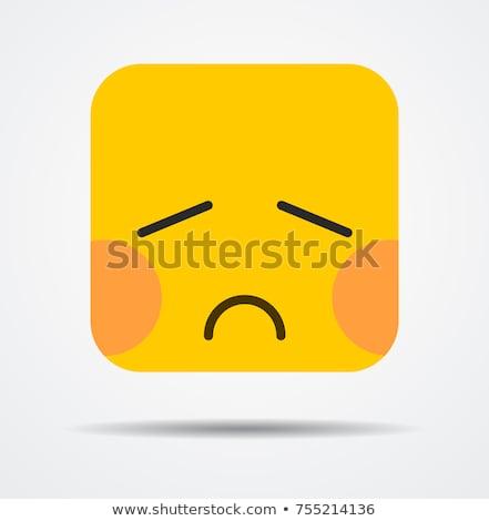 człowiek · depresji · smutne · kanapie · pokój · twarz - zdjęcia stock © stevanovicigor