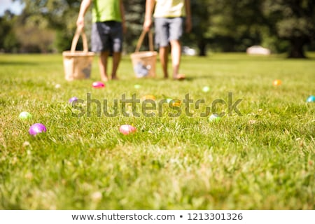 Easter Eggs with Legs Stock photo © ankarb