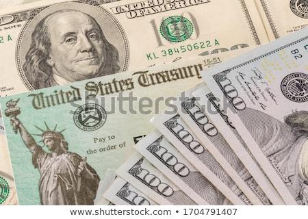 100 US Dollar Banknotes Stock photo © zhekos