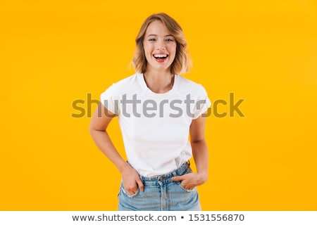Alluring blond woman Stock photo © acidgrey