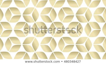 Geometric Texture Ice Cubes Stock photo © derocz