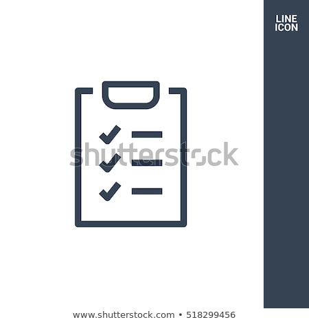 Check List Icon. Business Concept. Flat Design. Stock photo © WaD