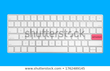 Affaires analytics bleu clavier bouton Homme Photo stock © tashatuvango