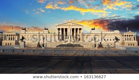 議会 ウイーン オーストリア 1泊 市 芸術 ストックフォト © vichie81