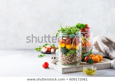 Organic Quinoa Stock photo © marilyna