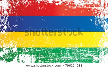 France and Mauritius Flags Stock photo © Istanbul2009