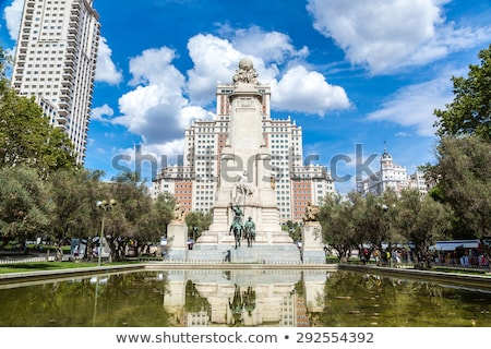 plaza espana madrid stock photo © vichie81