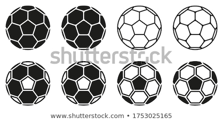 Stock photo: Colorful background with a soccer ball. EPS 8