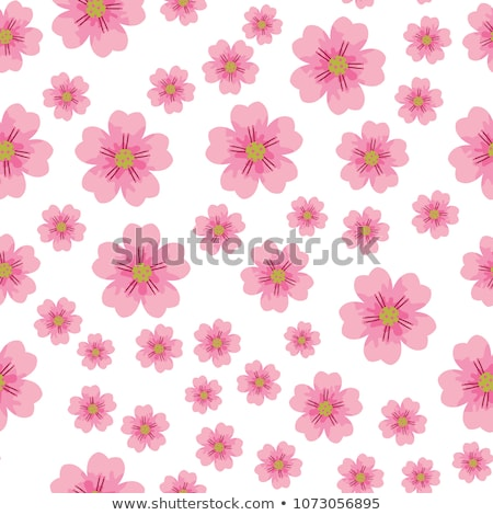 Spring Cherry Blossom. Bright Flowers Background, Floral Pattern Stock photo © maxpro