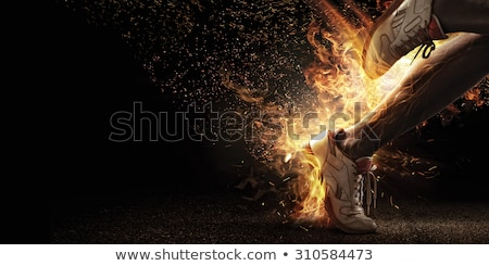 fire runner stock photo © kirill_m