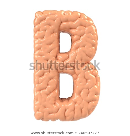 A letter B for brain Stock photo © bluering