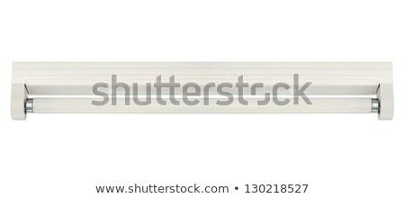 fluorescent lamp with batten fitting stock photo © ozaiachin