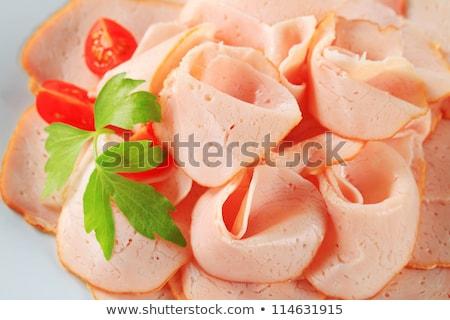 delicately sliced chicken breast stock photo © digifoodstock