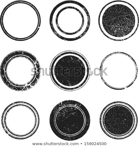 Rubber stamp round Stock photo © sifis