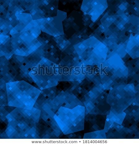 Sapphire seamless texture. Blue gem vector background. Stock photo © MaryValery