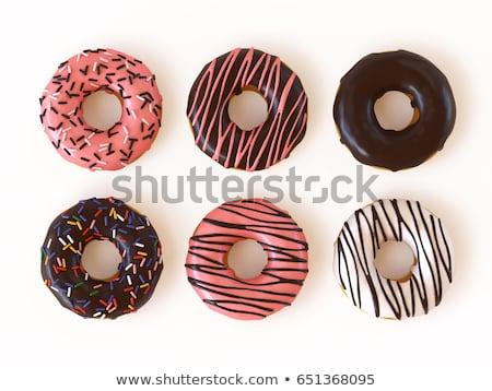 Chocolate sprinkle cookies Stock photo © Digifoodstock