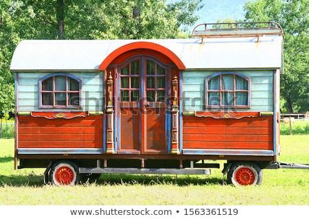 Gypsy caravan wagon Stock photo © sifis