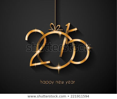 2015 merry christmas and happy new year flyers covers posters and pages hipster design unusual s stock photo © jeksongraphics