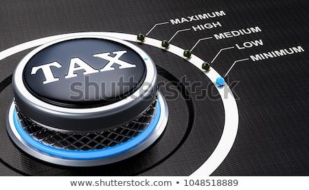 Stock fotó: Adó · stratégia · könyvelő · könyvelés · szimbólum · emberek
