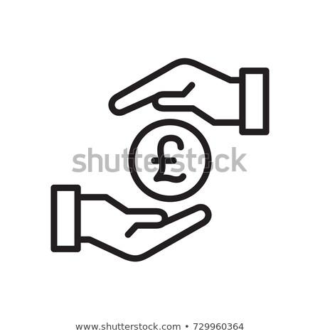 ストックフォト: お金 · ポンド · にログイン · クリーン · 現実的な