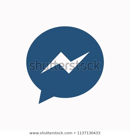 Haberci gömlek telefon iş Stok fotoğraf © devon