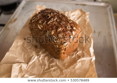 Healthy bread with seeds Stock photo © artjazz