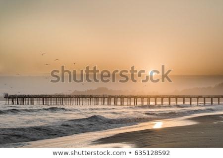Seacliff State Beach, Aptos, Santa Cruz County, California USA. Stock photo © yhelfman