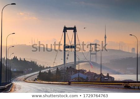 Vuota ponte foto estate successone guardare Foto d'archivio © tracer