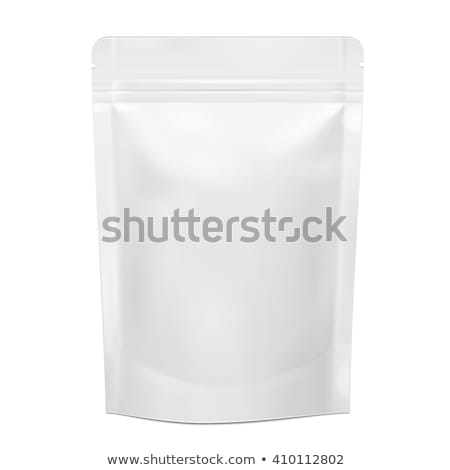 Vector Packaging Package Bag Isolated on White Background Stock photo © Mediaseller