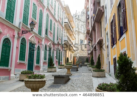 Macau old town Stock photo © vichie81