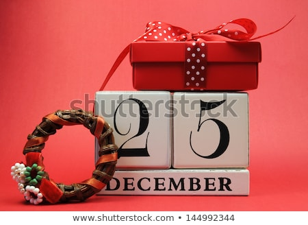 25 December Christmas Day Stock photo © Olena