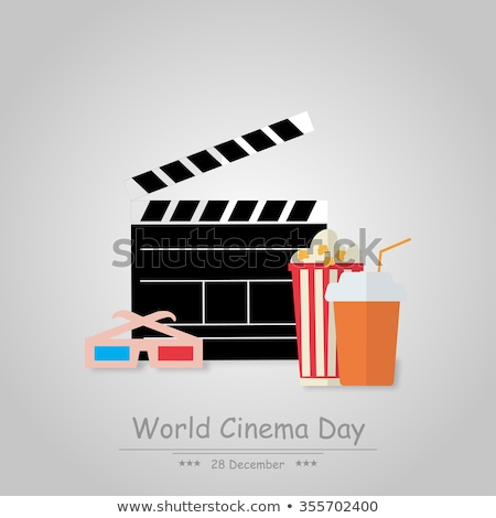 28 December World cinema day Stock photo © Olena