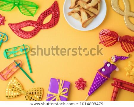 Cartão férias ícone linear estilo festa Foto stock © Olena