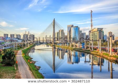 Skyline Сан-Паулу Бразилия город путешествия зданий Сток-фото © Spectral