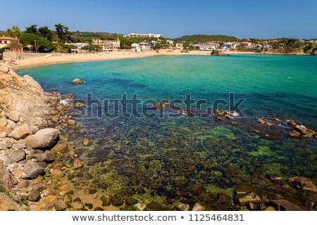 Detail Of The Spanish Coast Costa Brava La Fosca Stock photo © Digoarpi