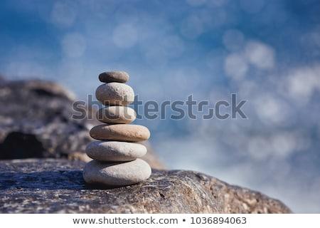 Piedra torre pared blanco ladrillo construcción Foto stock © vrvalerian