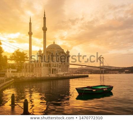 исторический мечети Стамбуле Турция небе Сток-фото © Givaga
