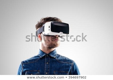 Virtual Reality Goggles Man Stock photo © lenm