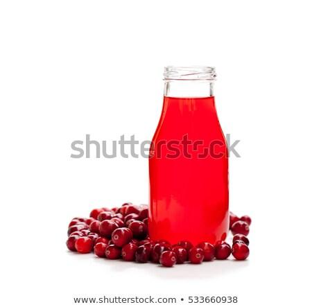 Juice Of Cranberry Transparent Background Stock photo © adamson