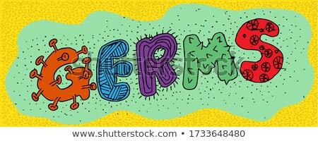 Cartoon batteri testo illustrazione Foto d'archivio © cthoman