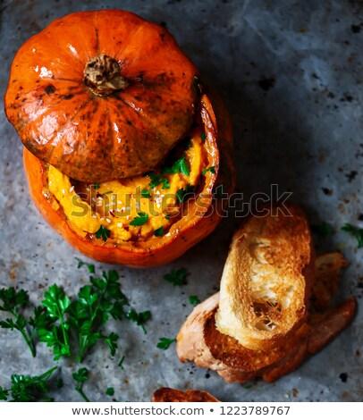 lebanese pumpkin hummus.style vintage Stock photo © zoryanchik