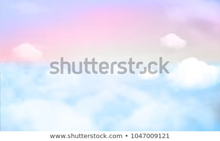 Unicorn on the sky Stock photo © bluering