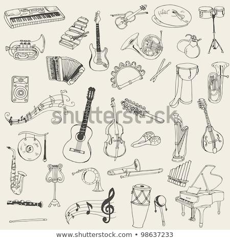sprzęt · biurowy · zestaw · wektora · klawiatury · elektroniki · cyfrowe - zdjęcia stock © rastudio