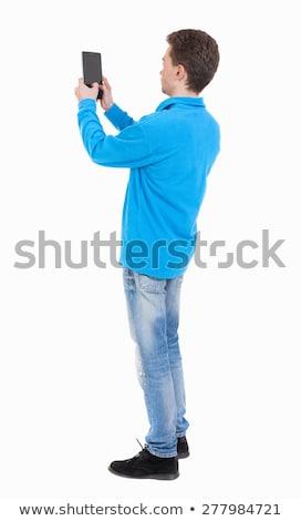 kadın · golfçü · atış · golf · sahası - stok fotoğraf © kzenon